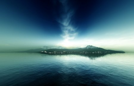 Middle_Earth__Aman_by_Isilmetriel