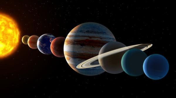 月蝕と惑星の整列
